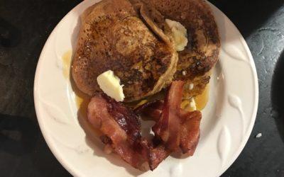 Homemade Pancakes…..yum!