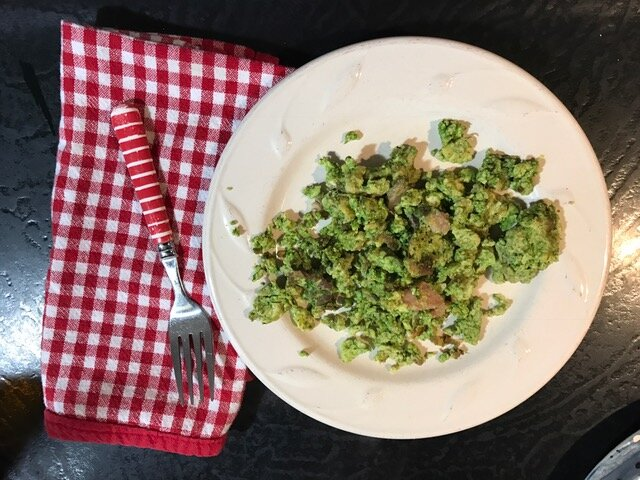 Green Eggs with Ham…